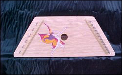 Lewis Creek Instruments - Hand Painted Psaltery